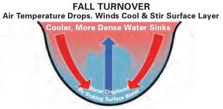 Fall Lake Turnover is Coming! | Ozarks Water Watch at Beaver Lake